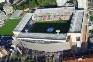 Visão aérea do Estádio do Bessa Séc. XXI