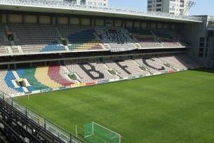 Interior do Estádio do Bessa Séc. XXI